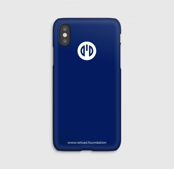 Reload foundation, Blue, iPhone_cases