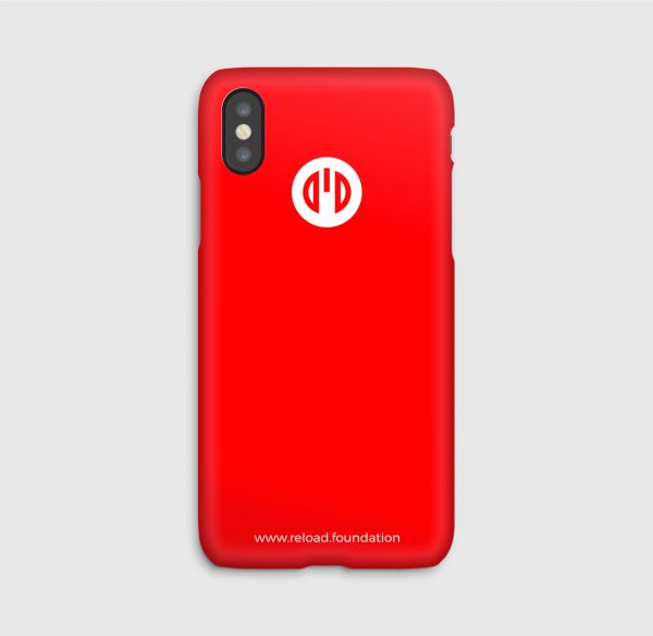 Reload foundation, Red, iPhone_cases